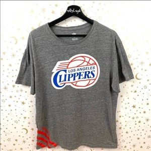 Addidas Unisex LA Clippers T-shirt